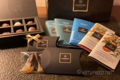 Wow... we got a load of Amedei chocolates!