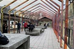 Rooftop art installation