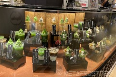 Matcha dessert stand in Xinyi ESLite