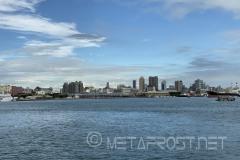 Looking at the Kaohsiung Banana Pier
