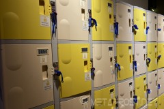 Lockers for you to use
