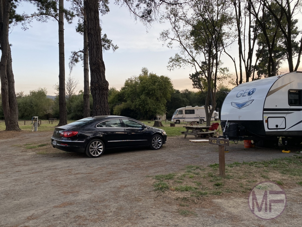 More views of our Olema Campground