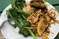 Sample of a dinner plate
