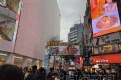 One of the major Ximending streets