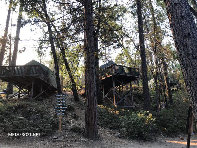 San Jose Family Camp Tent-Cabins